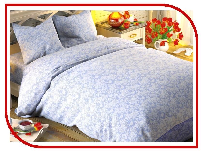 Постельное белье Этель Иней Комплект Дуэт Поплин 1504639 постельное белье этель ежевика комплект дуэт поплин 1154371
