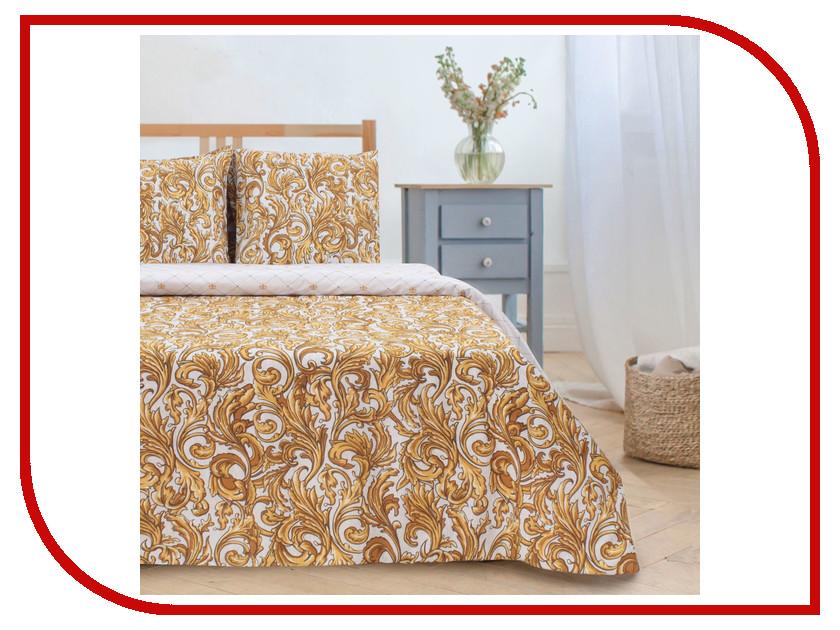 Постельное белье Этель Вензель золотой Комплект Дуэт Поплин 2588661 подушка золотой вензель песок софт 35х60 ti