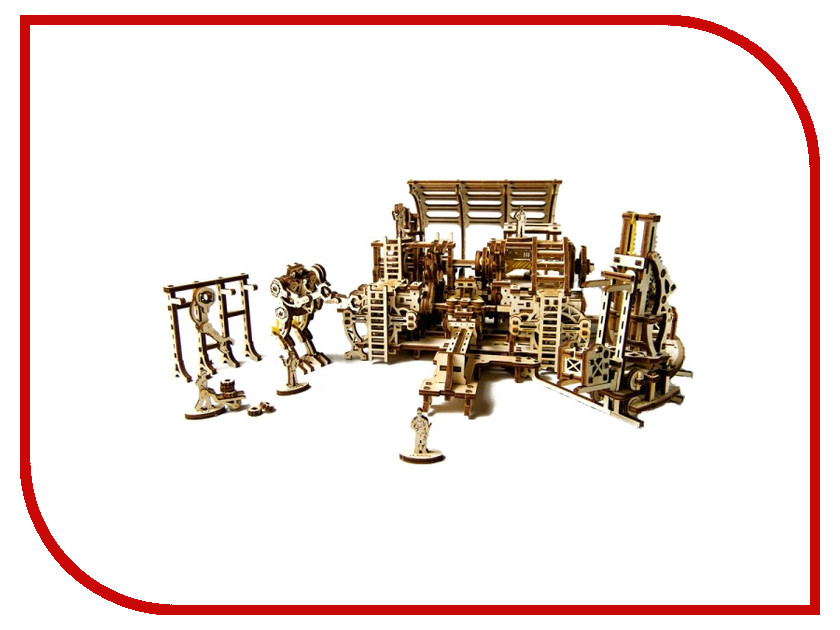 3D-пазл UGears Фабрика роботов