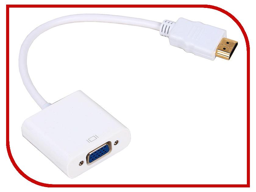 Аксессуар VCOM HDMI M - VGA F 0.15m CG558 аксессуар orient c100 hdmi m vga f