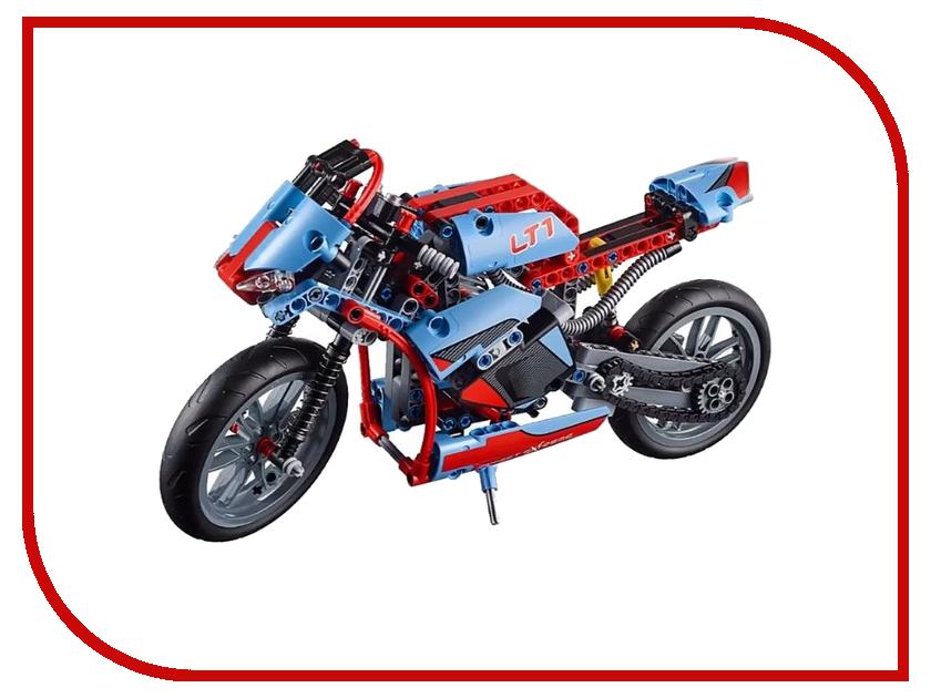 Конструктор Lele Technology Спортбайк 578 дет. 38020 конструктор brickmaster маяк 230 дет