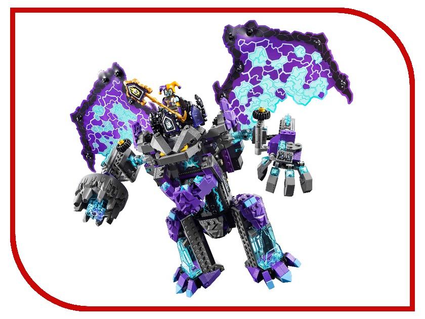 Конструктор Bela Nexo Knights Каменный великан-разрушитель 808 дет. 10705