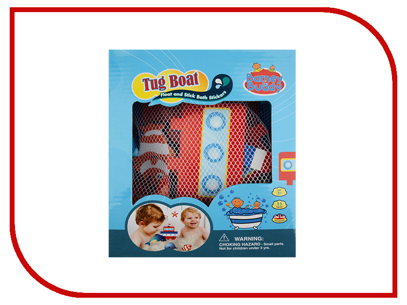 игрушка Barney&Buddy Построй пароходик BB014