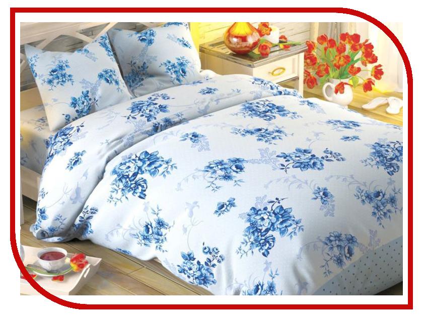 Постельное белье Этель Флорена Комплект 2 спальный Поплин 1504629 флорена косметика в москве