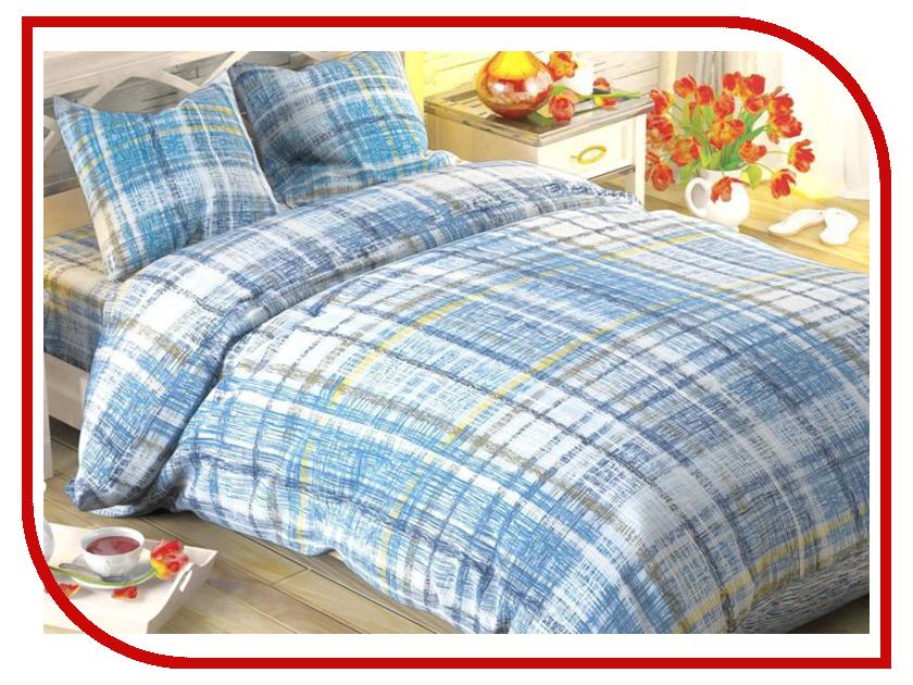Постельное белье Этель Тартан Комплект 2 спальный Поплин 1444233