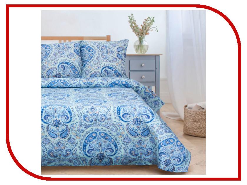 Постельное белье Этель Пэйсли Комплект 2 спальный Поплин 1504623 постельное белье этель зеленый сад комплект 1 5 спальный поплин 1534721