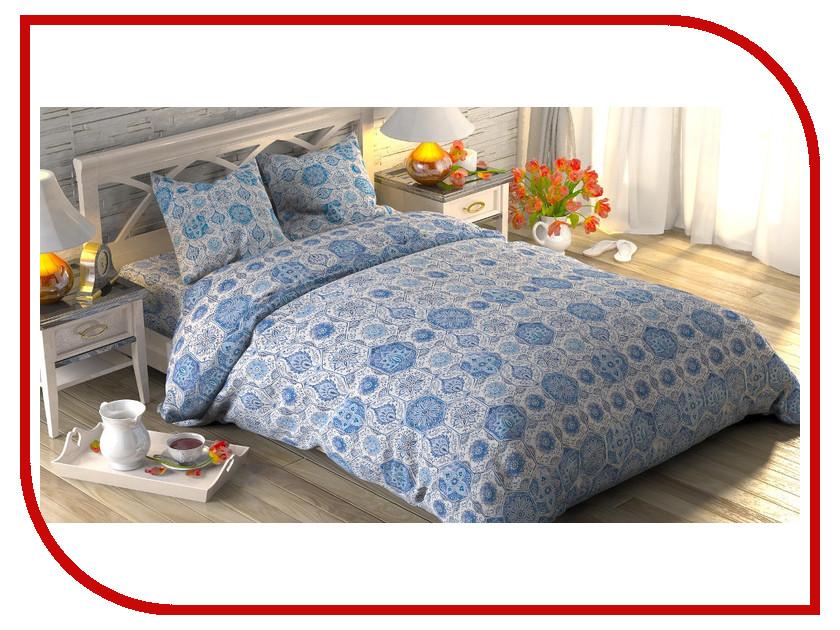 Постельное белье Этель Майолика Комплект 2 спальный Поплин 1534694