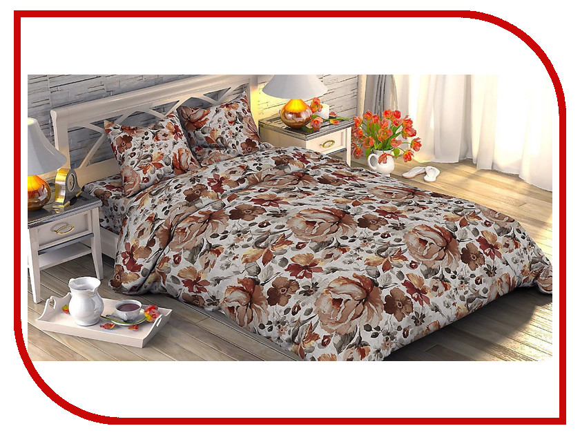 Постельное белье Этель Лорета Комплект 2 спальный Поплин 1534758