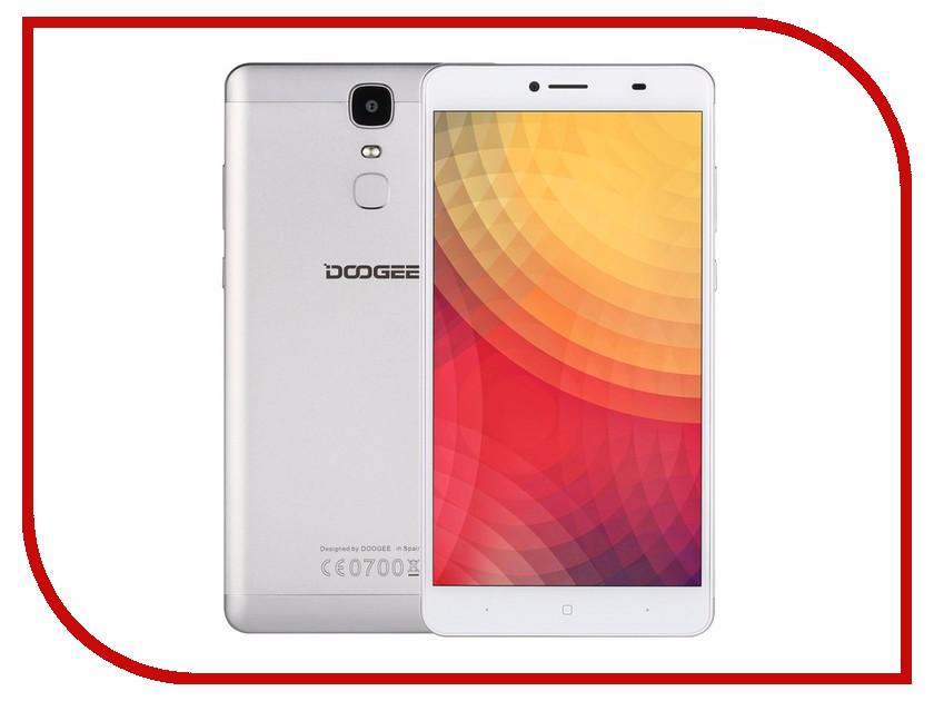 Сотовый телефон DOOGEE Y6 Max Silver сотовый телефон doogee x6s white