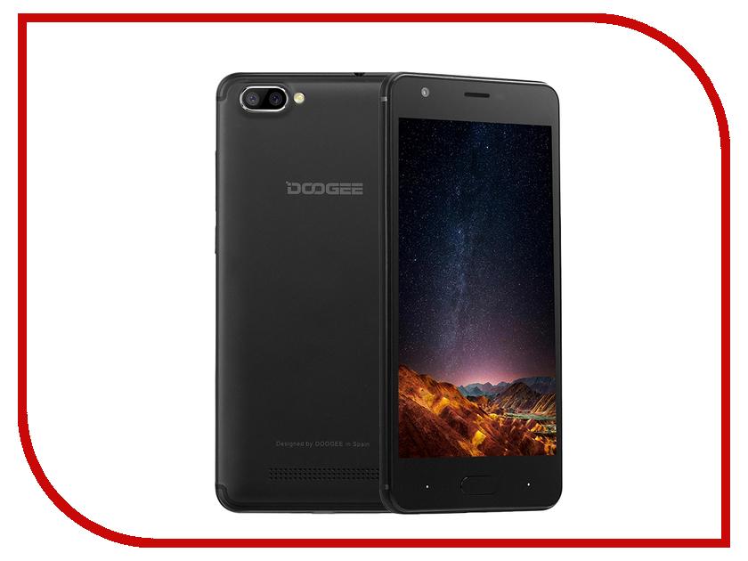 Сотовый телефон DOOGEE X20 3G Black смартфон doogee x20 black