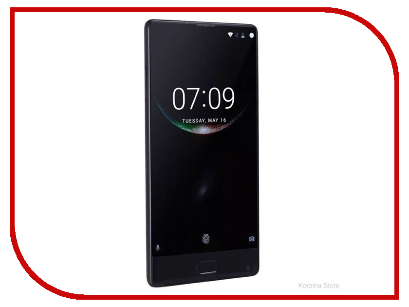 Сотовый телефон DOOGEE Mix 6Gb RAM 64Gb Black мобильный телефон doogee mix lite синий
