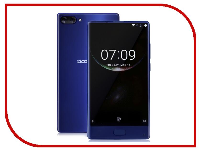 Сотовый телефон DOOGEE Mix 6Gb RAM 64Gb Blue мобильный телефон doogee mix lite синий