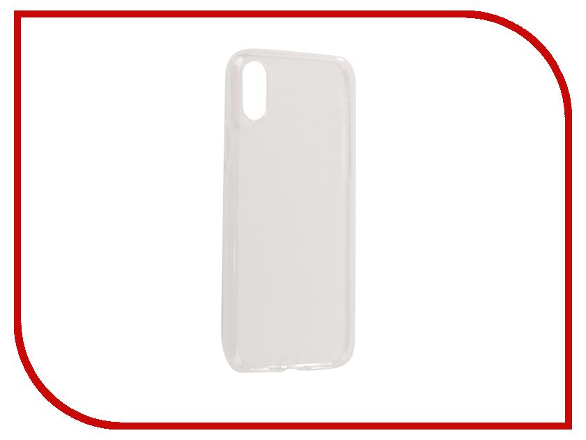 Аксессуар Чехол Zibelino Ultra Thin Case для APPLE iPhone X White ZUTC-APL-X-WHT аксессуар чехол htc desire 620 620g zibelino ultra thin case white zutc htc 620 wht