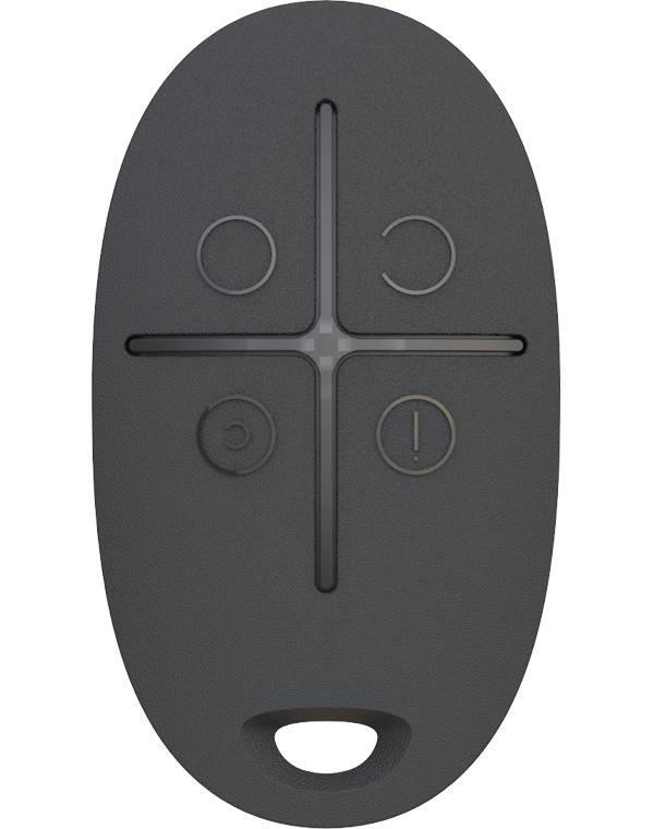 Брелок для управления охранной системой Ajax SpaceControl Black 6108.04.BL1