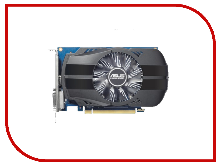 Видеокарта ASUS GeForce GT 1030 1278Mhz PCI-E 3.0 2048Mb 6008Mhz 64 bit DVI HDMI HDCP PH-GT1030-O2G видеокарта asus geforce gtx 1060 1620mhz pci e 3 0 6144mb 8208mhz 192 bit dvi hdmi hdcp rog strix gtx1060 o6g gaming