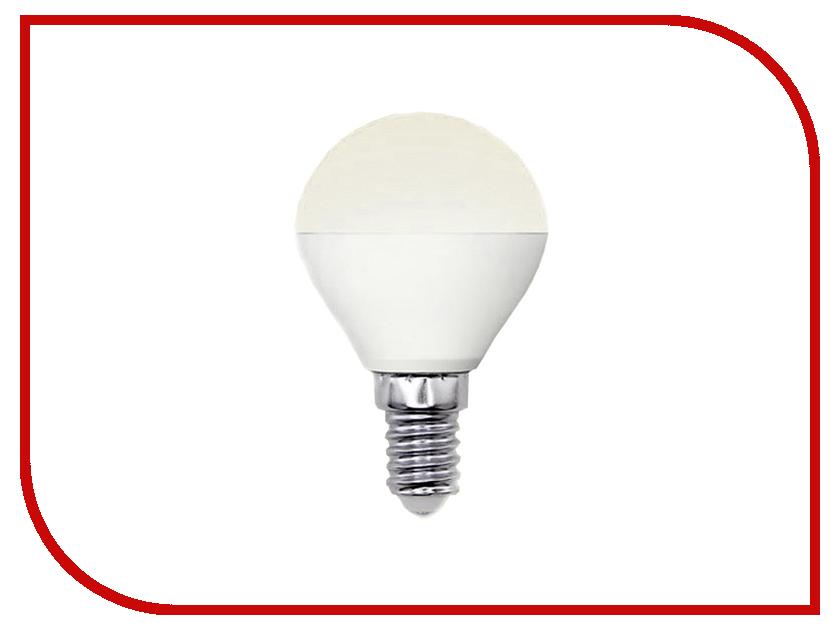 Лампочка Uniel LED-G45-6W/WW/E14/FR/MB PLM11WH лампочка uniel il f25 cl 15 e14 01854