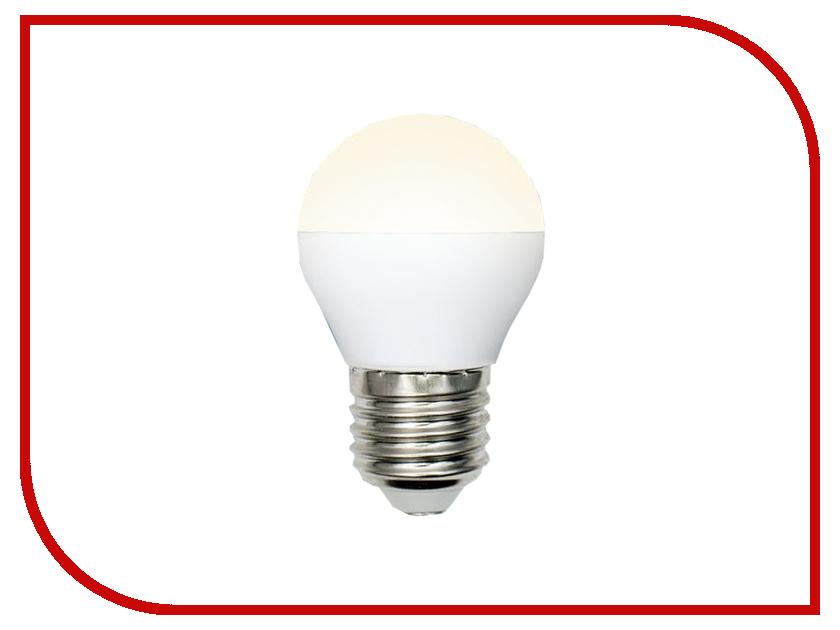 Лампочка Uniel LED-G45-6W/WW/E27/FR/MB PLM11WH