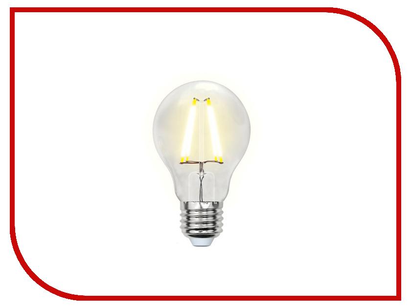 Лампочка Uniel LED-A60-8W/NW/E27/CL PLS02WH лампочка uniel il f25 cl 15 e14 01854