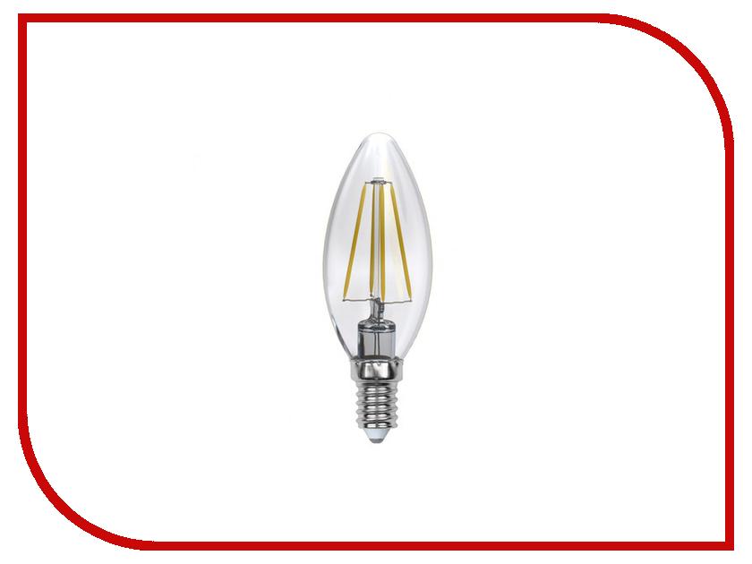 Лампочка Uniel LED-C35-6W/NW/E14/CL PLS02WH лампочка uniel il f25 cl 15 e14 01854