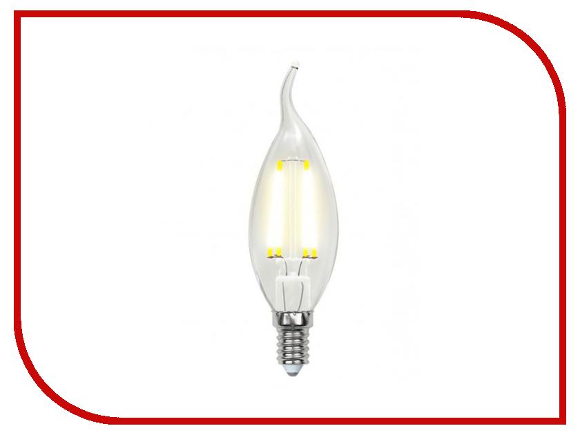 Лампочка Uniel LED-CW35-6W/NW/E14/CL PLS02WH лампочка uniel il f25 cl 15 e14 01854