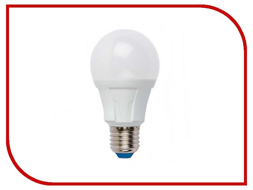 Лампочка Uniel LED-A60-12W/NW/E27/FR PLP01WH лампочка dialog led a60 e27 12w 3000k