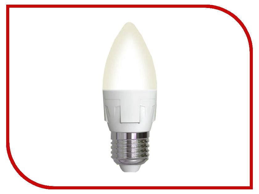 Лампочка Uniel LED-C37-7W/WW/E27/FR PLP01WH