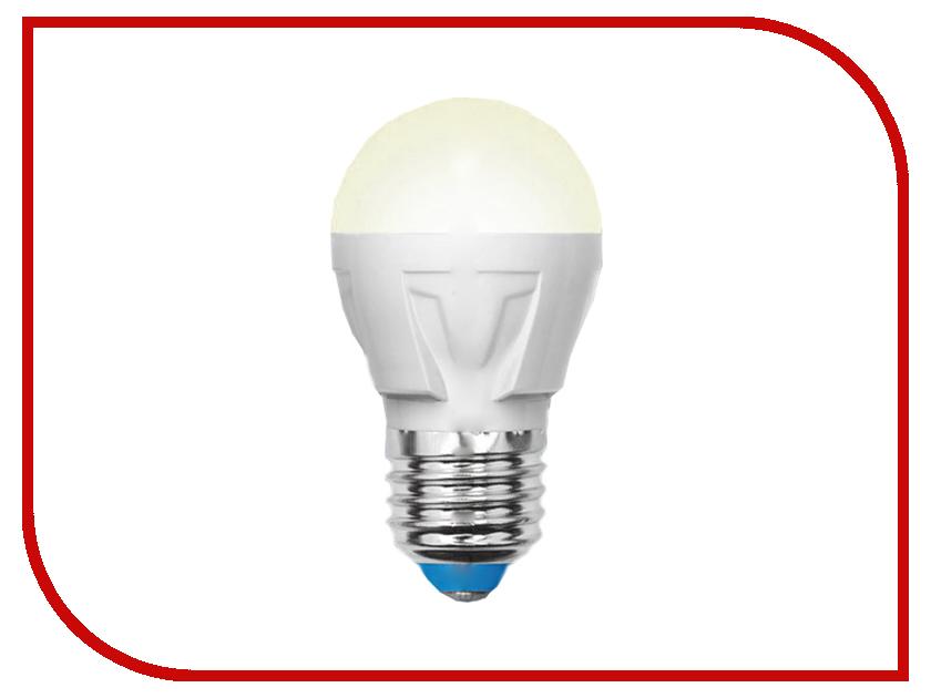 Лампочка Uniel LED-G45-7W/WW/E27/FR PLP01WH лампочка krez light 7w e27 4bm wh125 01