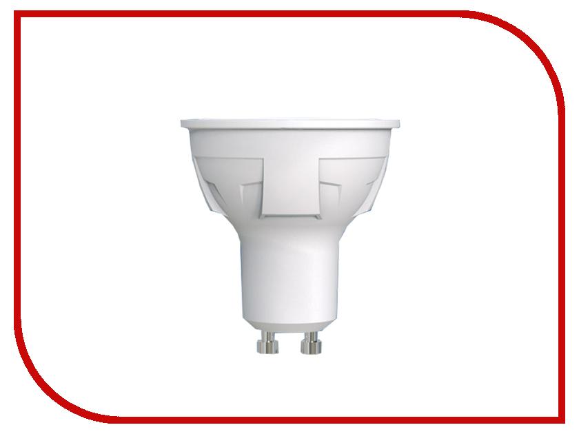Лампочка Uniel LED-JCDR-6W/NW/GU10/FR PLP01WH лампа светодиодная 07907 gu10 6w 4500k jcdr матовая led jcdr 6w nw gu10 fr 38d alp01wh