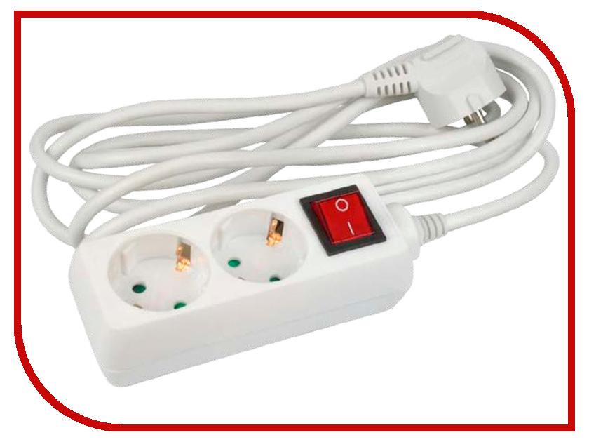Удлинитель Uniel Стандарт 2 Sockets 5m S-GCD2-5B uniel s gsp4 3c
