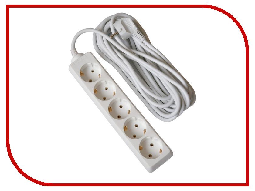 Удлинитель Uniel Стандарт 5 Sockets 3m S-GCD5-3 uniel s gsp4 3c