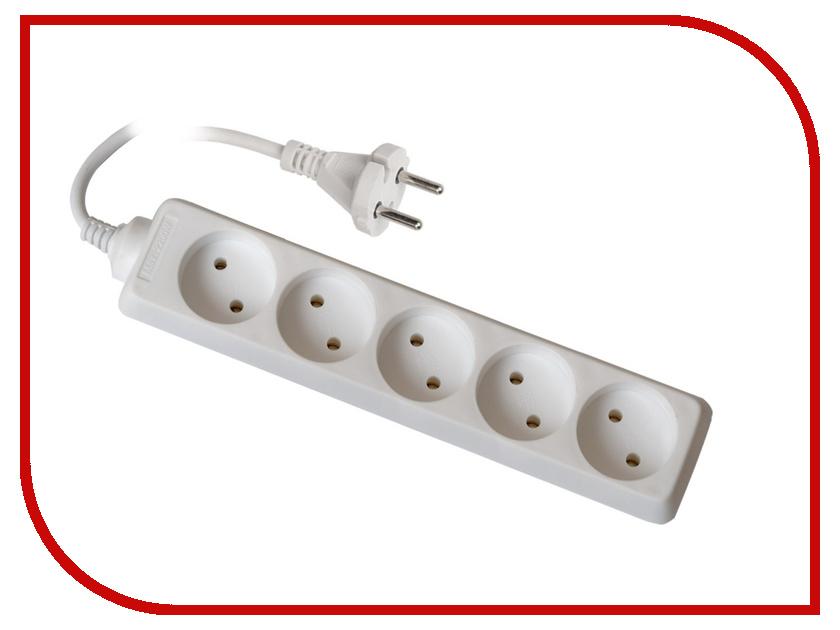 Удлинитель Uniel Стандарт 5 Sockets 3m S-CD5-3