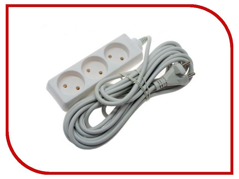 Удлинитель Uniel Стандарт 3 Sockets 1.5m S-CD3-1,5