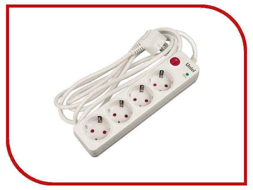 Сетевой фильтр Uniel Energy 4 Sockets 5m S-GSP4-5E uniel s gsp4 3c