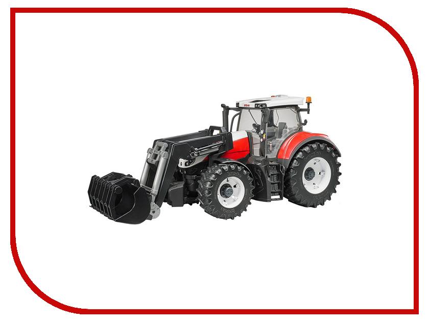 Игрушка Bruder Case IH Optum 300 CVX Трактор с погрузчиком 03-191 машинки tomy трактор case ih 210 puma