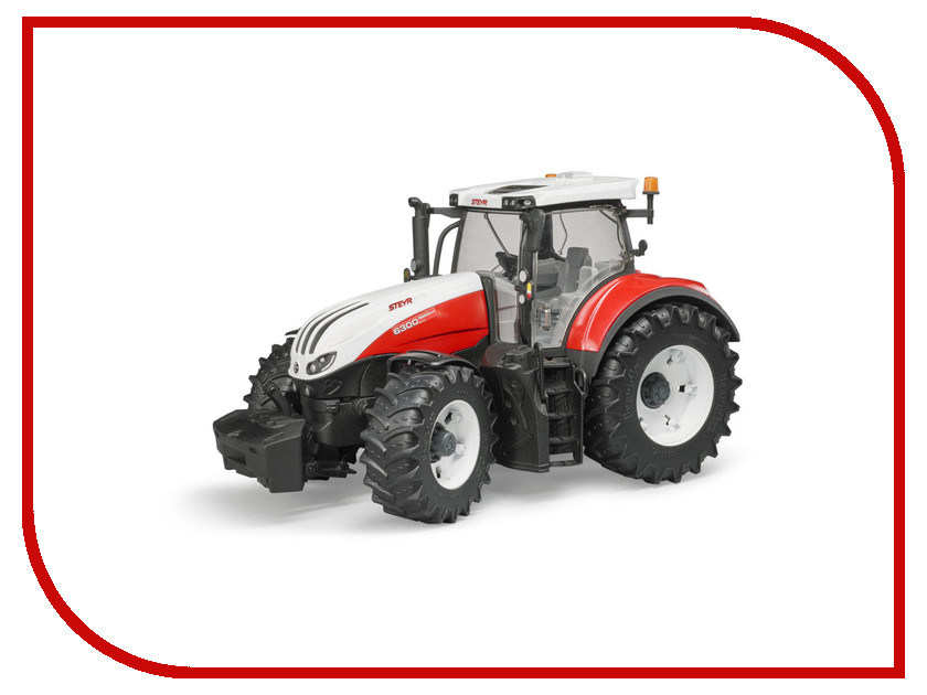 Игрушка Bruder Steyr 6300 Terrus CVT Трактор 03-180 bruder трактор steyr 6300 terrus cvt c фронтальным погрузчиком