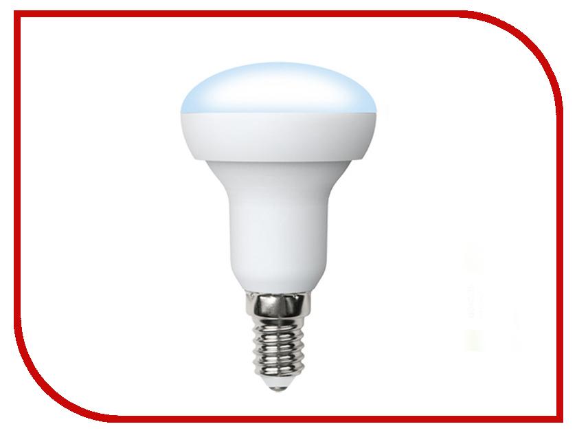 Лампочка Volpe Optima LED-R50-6W/NW/E14/FR/O 10219 лампочки volpe набор из 10 светодиодных лампочек рефлектороного типа e14 белый свет 6вт