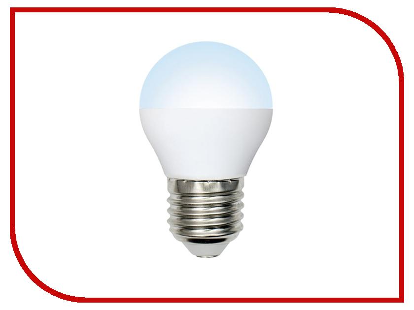 Лампочка Volpe Optima Шар LED-G45-6W/DW/E27/FR/O UL-00001070 набор из 10 светодиодных лампочек e27 белый свет 11 вт volpe