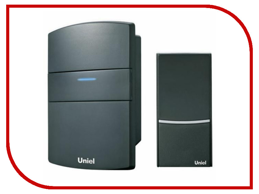 Звонок дверной Uniel UDB-022E-R1T1-32S-BL