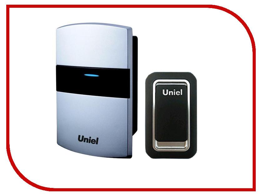 Звонок дверной Uniel UDB-022E-R1T1-32S-SL звонок беспроводной 08318 uniel udb 011w r1t1 32s 150m wm