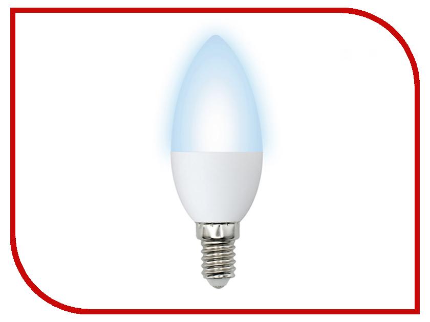 Лампочка Volpe Optima Свеча LED-C37-6W/NW/E14/FR/O 10213 elektrostandard лампочка elektrostandard led c37 cd 6w 3300k e14