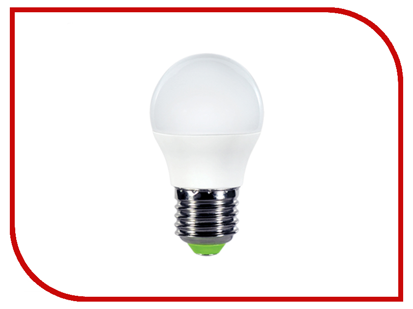 Лампочка IN HOME LED-ШАР-ECO 5W 230V E27 4000K 375Lm 4690612013749 5шт