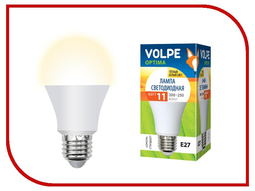 Лампочка Volpe Optima LED-A60-11W/WW/E27/FR/O UL-00000959 hb4 9006 11w xenite