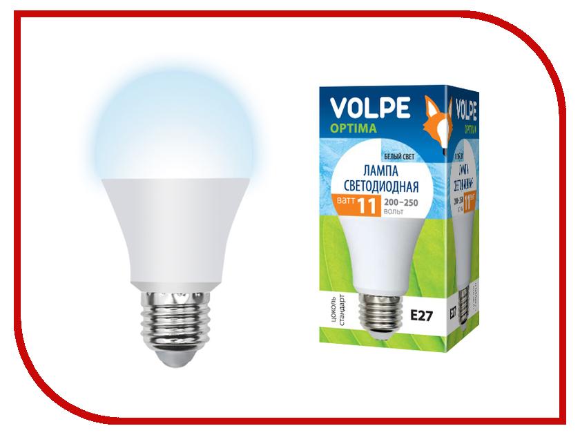 Лампочка Volpe Optima LED-A60-11W/NW/E27/FR/O UL-00000960 лампочка экономка a60 14w e27 230v 4500k ecol14wa60230ve2745