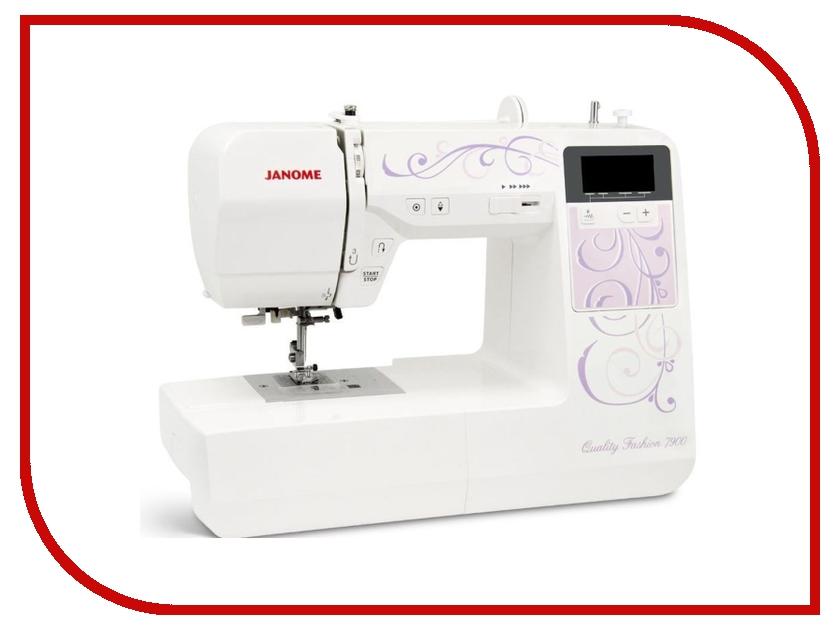 Швейная машинка Janome Quality Fashion 7900 швейная машинка astralux 7350 pro series вышивальный блок ems700