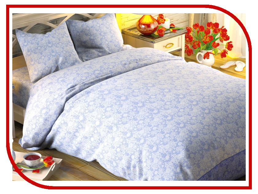 Постельное белье Этель Иней Комплект 2 спальный Поплин 1504624 антисептик иней woodmaster 10 кг