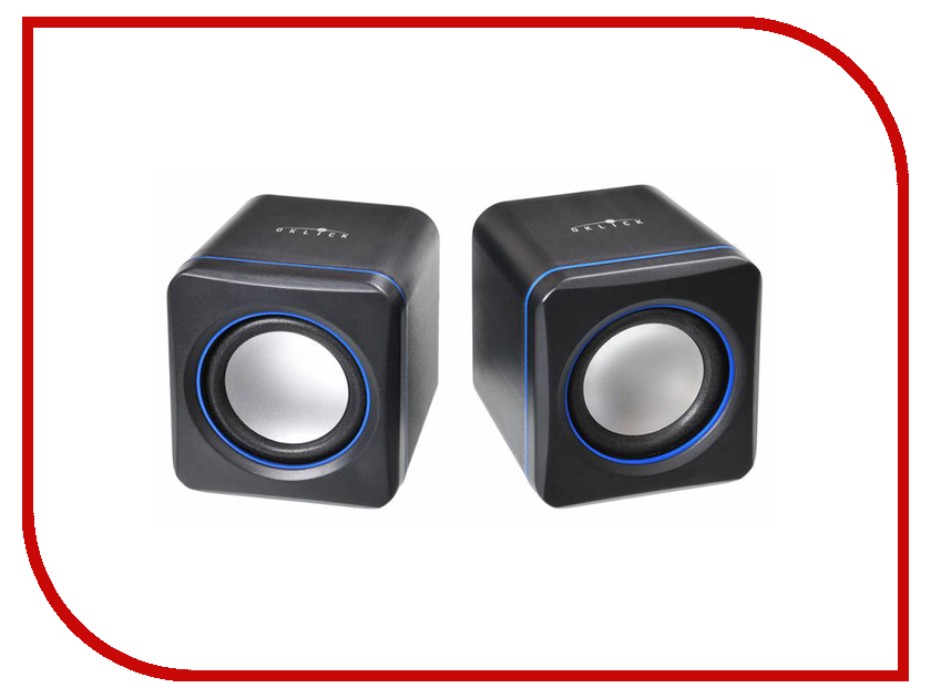 Колонка Oklick OK-301 Black-Blue