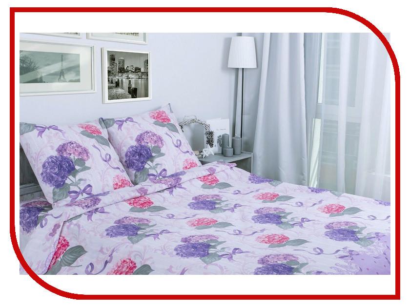 Постельное белье Этель Гортензия Комплект 2 спальный Поплин 1154333