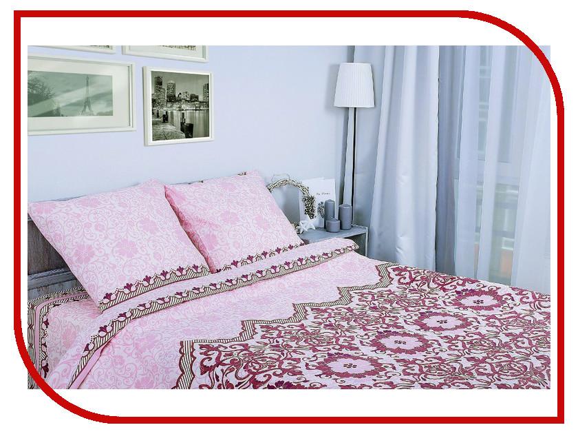 Постельное белье Этель Ажурная ночь Комплект 2 спальный Поплин 1154341