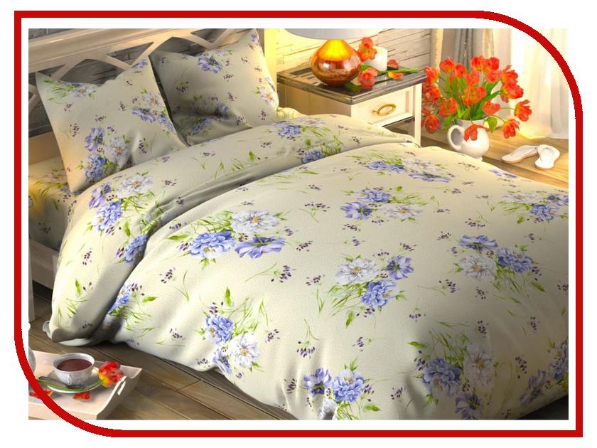 Постельное белье Этель Садовые цветы Комплект 2 спальный Поплин 1444239