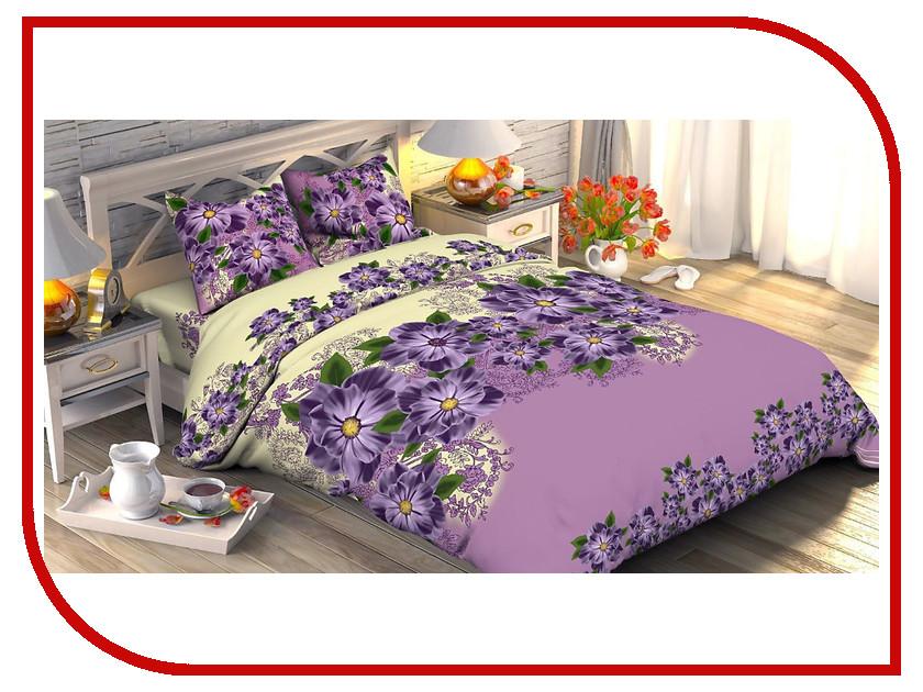 Постельное белье Этель Незабудка вид 2 Комплект 2 спальный Поплин 1534770